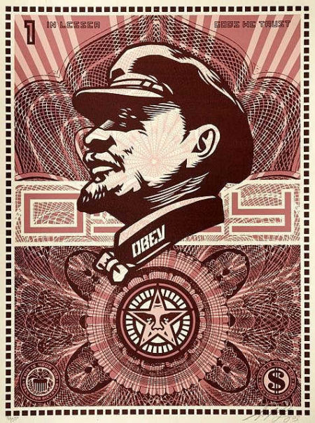 Shepard Fairey-Lenin Money-2003