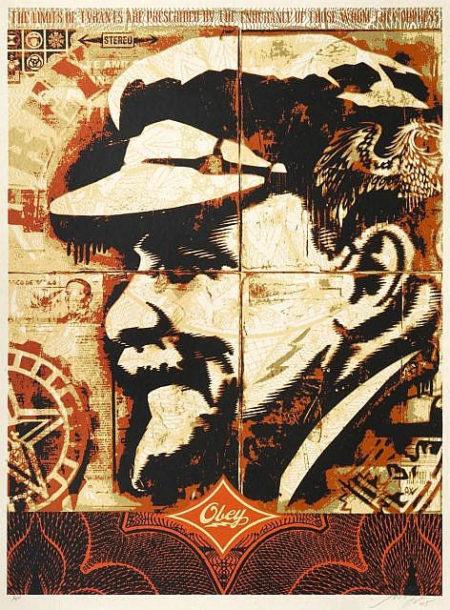Shepard Fairey-Lenin Record-2005