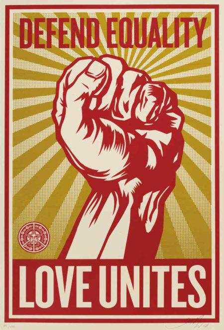 Shepard Fairey-Love Unites-2008