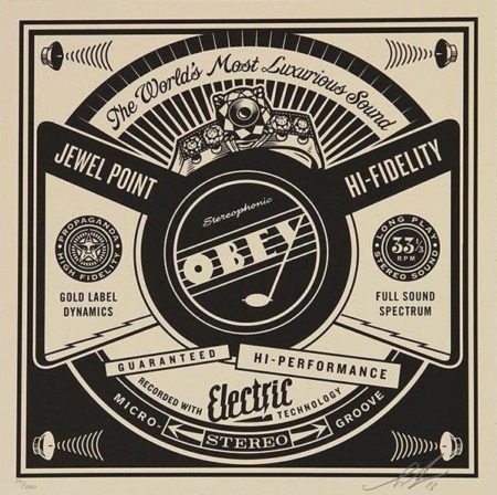 Shepard Fairey-Luxurious Sound-2014