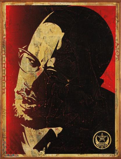 Shepard Fairey-Malcolm X-2006