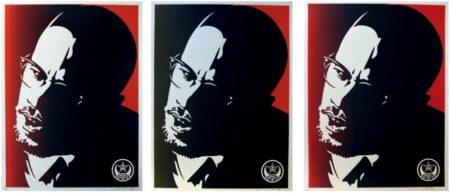 Shepard Fairey-Malcolm X Set-2006