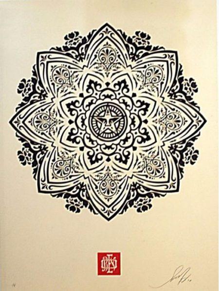 Shepard Fairey-Mandala Ornament-2010