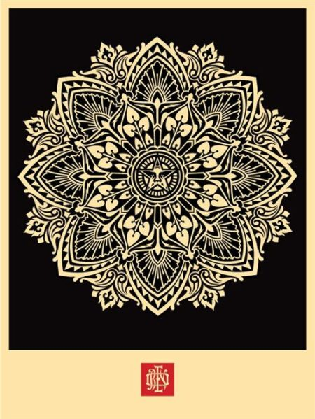 Shepard Fairey-Mandala Ornament-2010