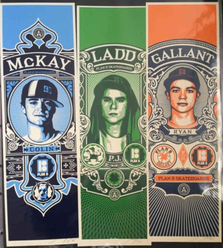 Shepard Fairey-Mc Kay/Ladd/Gallant-2005