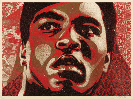 Shepard Fairey-Muhammad Ali-2006