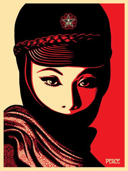 Shepard Fairey-Mujer Fatal-2008