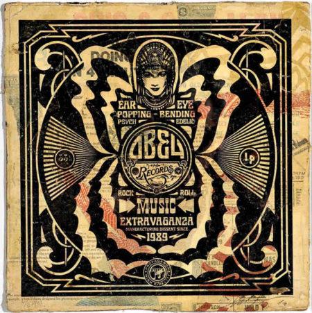 Shepard Fairey-Music Extravaganza-2010