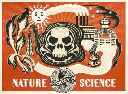 Shepard Fairey-Nature Science (Gold Edition)-2006