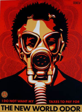 Shepard Fairey-Obey New World Odor-2004