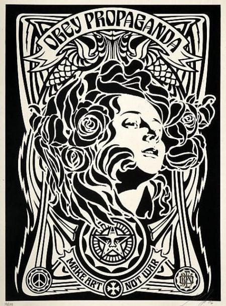 Shepard Fairey-Nouveau Black-2006