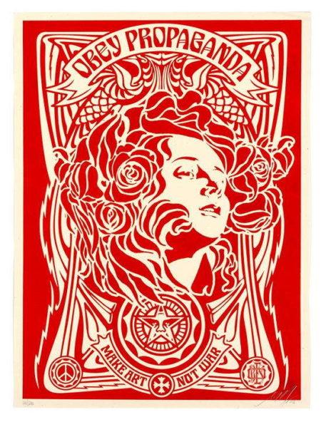 Shepard Fairey-Nouveau Red-2006