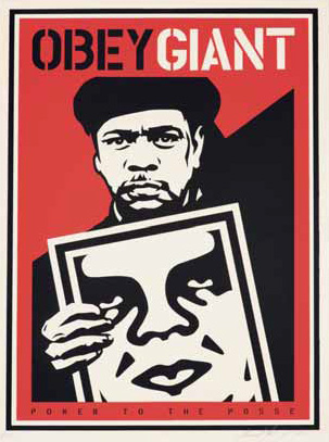 Shepard Fairey-Nubian Sign-2000