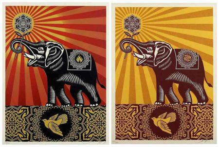 Shepard Fairey-Obey Elephant/Obey Elephant Gift-