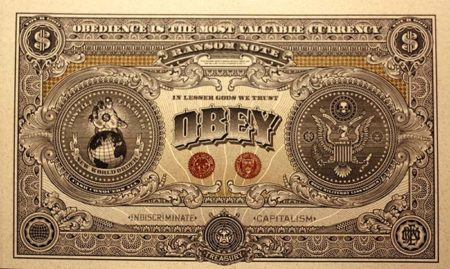 Shepard Fairey-Obey Giant Currency E-Puribus Venom-2007