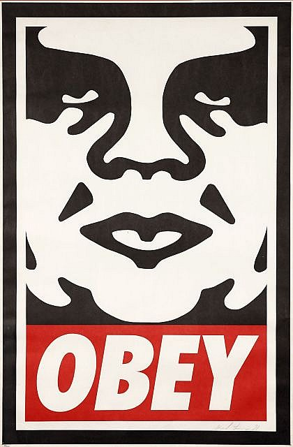 Shepard Fairey-Obey Icon-1998