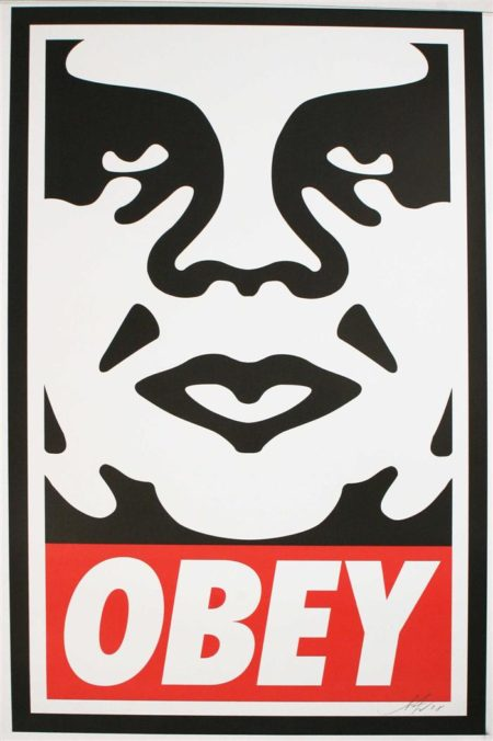 Shepard Fairey-Obey Icon-2011