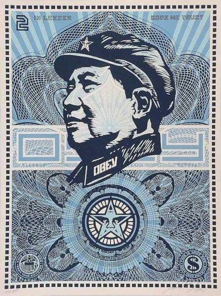 Shepard Fairey-Obey (Mao Money)-2003