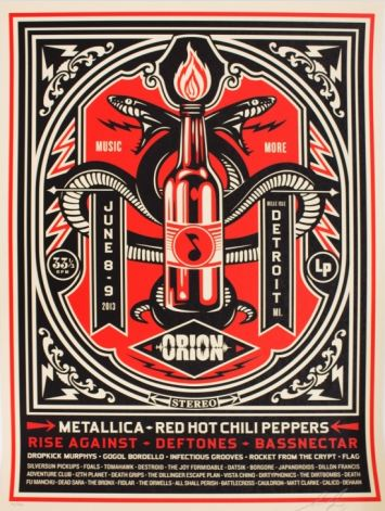 Shepard Fairey-Orion Print-2013