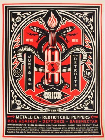 Shepard Fairey-Orion Print-2013
