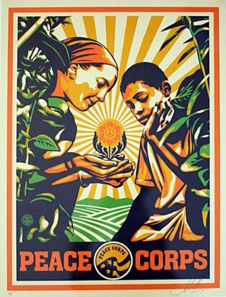 Shepard Fairey-Peace Corps-