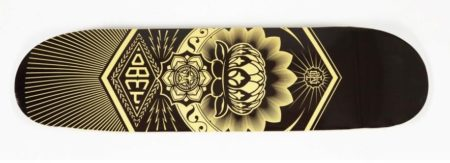 Shepard Fairey-Peace Lotus Deck-