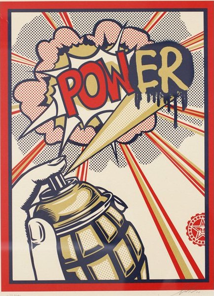 Shepard Fairey-Power-2010
