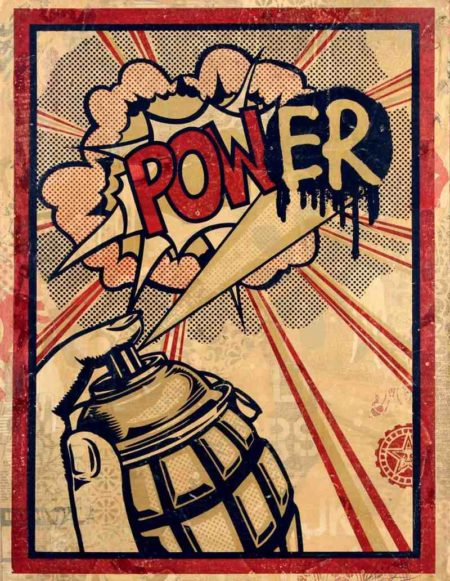 Shepard Fairey-Power-2011