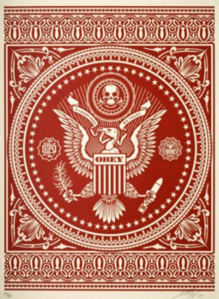 Presidential Seal (Red)-2007