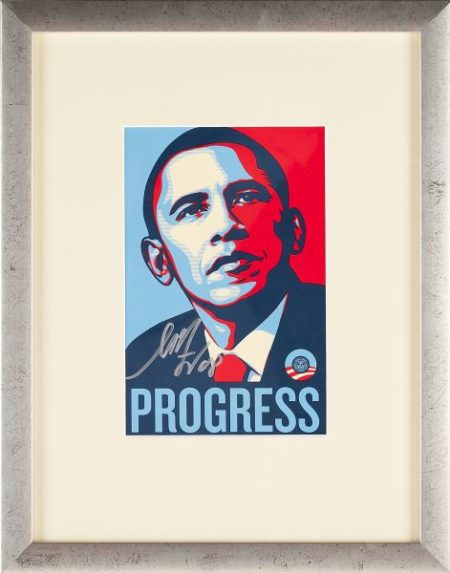 Shepard Fairey-Progress-2008