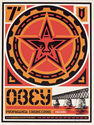 Shepard Fairey-Propaganda Engineering-2000