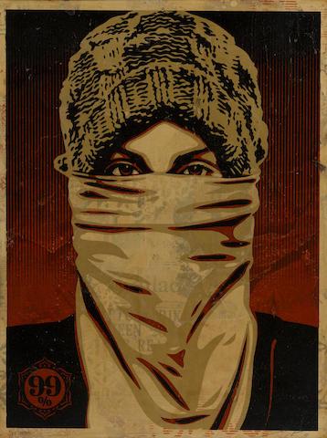 Shepard Fairey-Protester-2011
