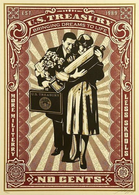 Shepard Fairey-Proud Parents-2007