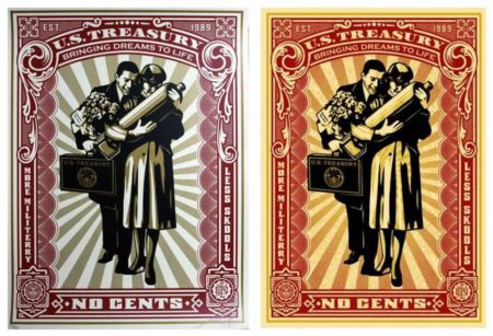 Shepard Fairey-Proud Parents Set-2007