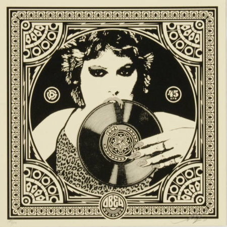 Shepard Fairey-Punk Girl-2011
