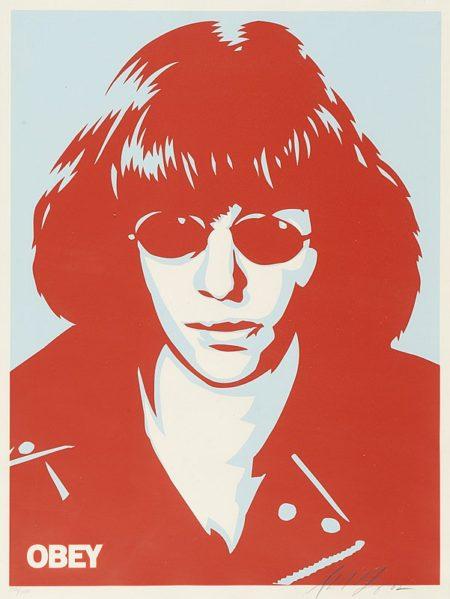 Shepard Fairey-Ramone Poster-2002