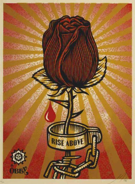Shepard Fairey-Rose Shackle-2006
