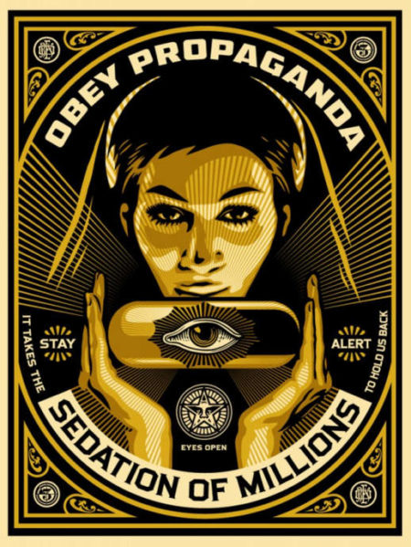 Shepard Fairey-Sedation Pill-2013