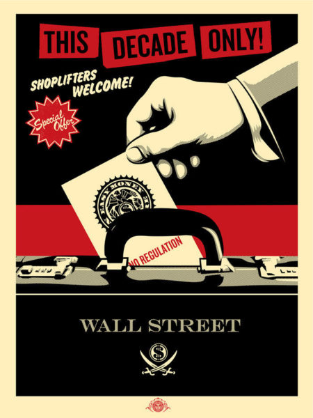Shepard Fairey-Shoplifters-