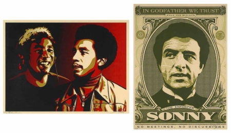 Shepard Fairey-Smockey Robinson Era/Godfather Sonny-