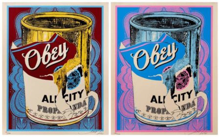 Shepard Fairey-Soup Cans-2009