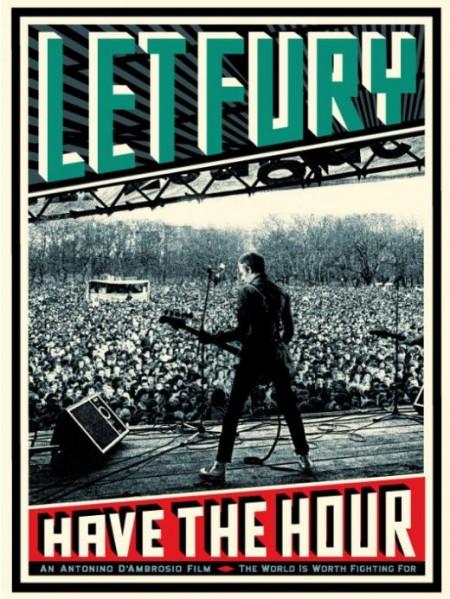 Shepard Fairey-The Clash Paul Simonon Let Fury Have The Hour-2009