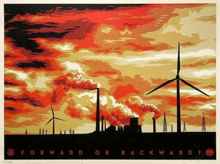 Shepard Fairey-The Last Mountain-2011