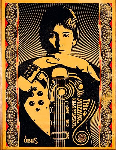 Shepard Fairey-This Machine Kills Fascists-2007
