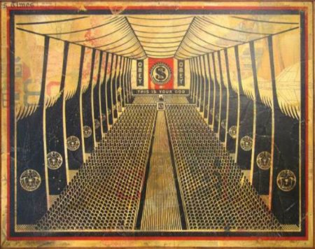 Shepard Fairey-This is your Church-2007