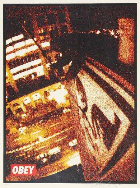Shepard Fairey-Tokyo roof-2001