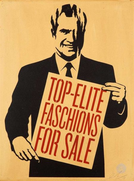 Shepard Fairey-Top-Elite Faschions For Sale-2011