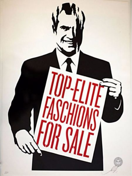 Shepard Fairey-Top-Elite Faschions For Sale-2011