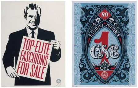 Shepard Fairey-Top-Elite Faschions For Sale / Studio Number One-