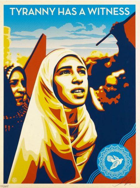Shepard Fairey-Tyranny Has a Witness-2011
